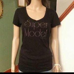 Victoria's secret Super Model Tee shirt Sz-S